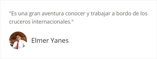 Testimonio de Elmer Yanes
